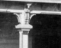 1918 Photo Column Detail