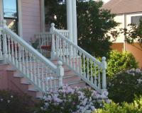 Victorian porch rail, balusters and newels