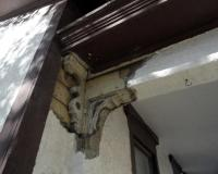 Porch Corbel at House