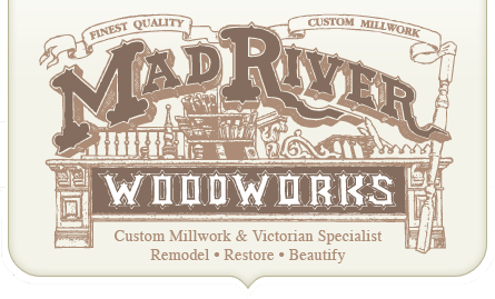 Victorian Millwork by Mad River Woodworks