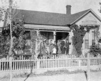 1918 Photo of House to be Remodeled