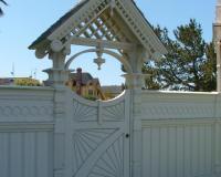 Victorian Gate, Eureka, CA