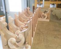 Corbels During Assemby